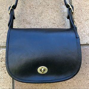 Vintage NYC Coach Small Shoulder Bag 9530